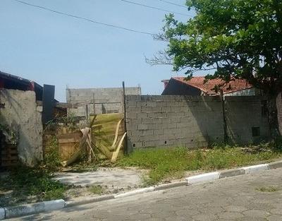 Terreno Lado Praia Com Casa Semi Acabada