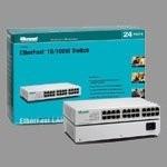 Swicht Micronet De 24 Puertos 10/100