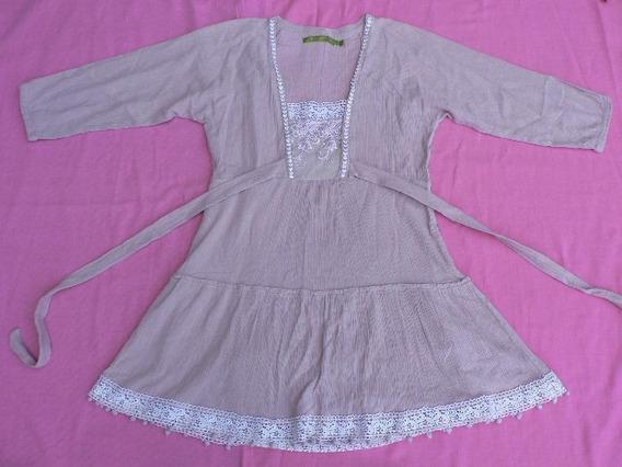 Blusa Camisola Vestido Corto Rapsodia Talle M Fortu13