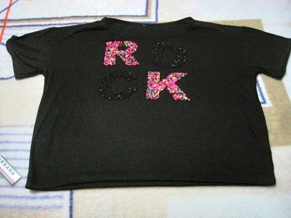 Remera Negra Rock