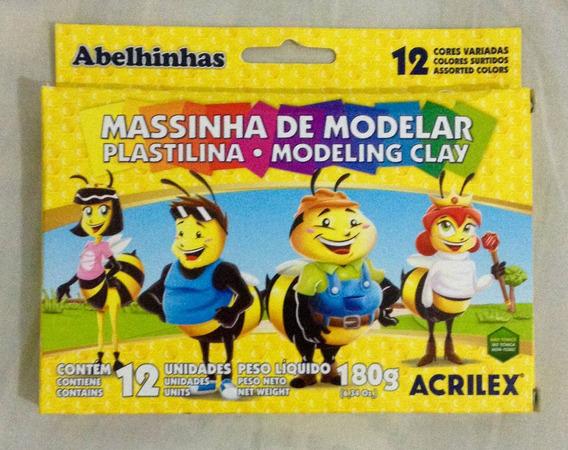 Massinha De Modelar - Contém 12 Cores Variadas