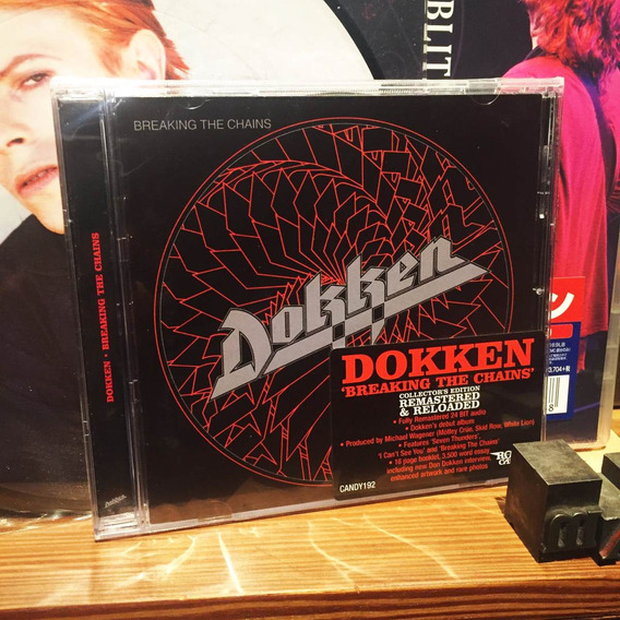 Dokken Breaking The Chains Cd