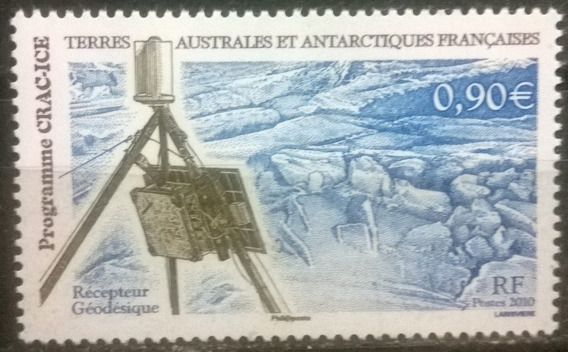 C@- Francia - Antartida - Satélite - Programa Crac Ice- Mint