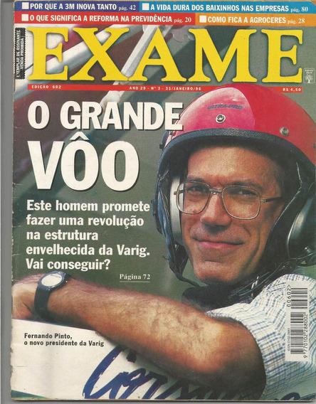 Revista Exame - Nº3 - Janeiro De 1996 - O Grande Vôo.