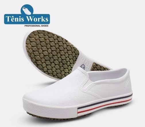 Sapato Ocupacional Soft Works - Branco - Tênis - Ca: 37212