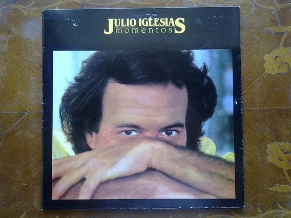 Julio Iglesias - Momentos. Disco De Vinilo Lp