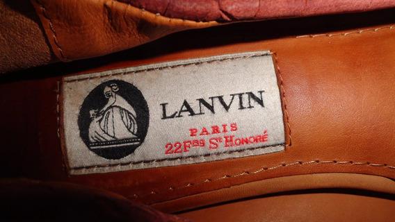 Gcci Flats Lanvin Originales Usados 3.5mx Fndi Ganalos¡