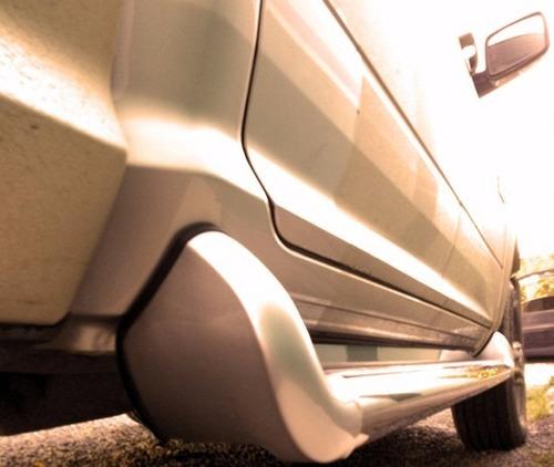 Imagem 1 de 4 de Estribo Personalizado Vermelho Chery Dodge Ram 2012 2015