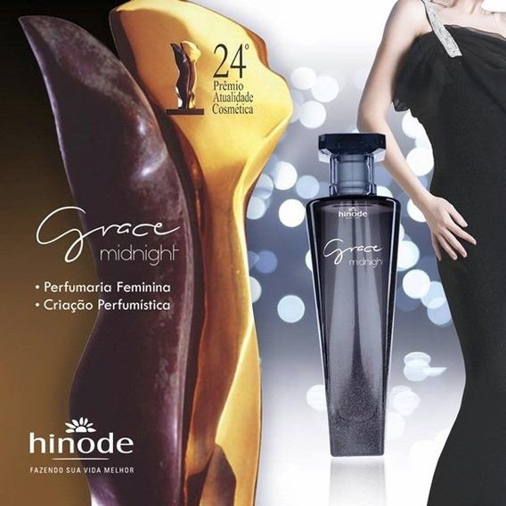 Perfume Grace Midninght -hinode 100 Ml Frete Gratis+brinde