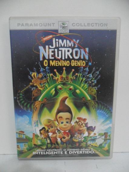 Dvd - Desenho - Jimmy Neutron O Menino Gênio (animação)