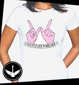 fed086494d Camiseta Whatever - Camisetas e Blusas no Mercado Livre Brasil