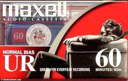 Fita Cassette Maxell Ur60