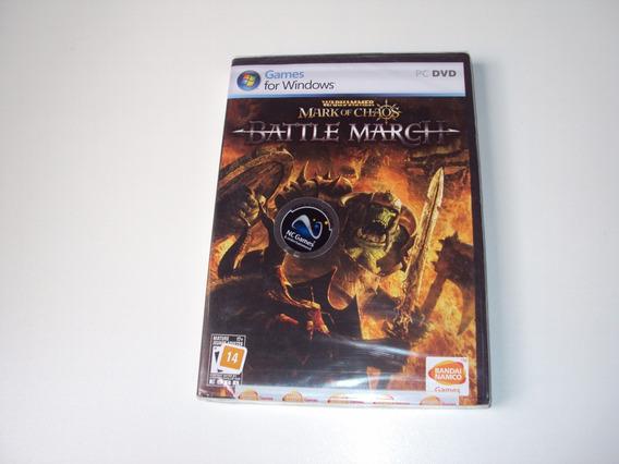 Warhammer Mark Of Chaos Battle March Original Lacrado Pc