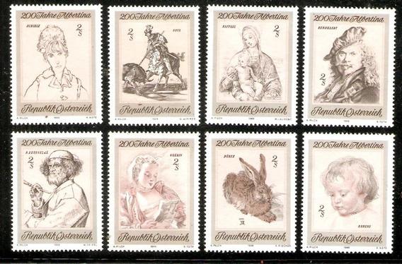 Colección De Arte. Serie Nueva Compl 1142/9. Austria 1969