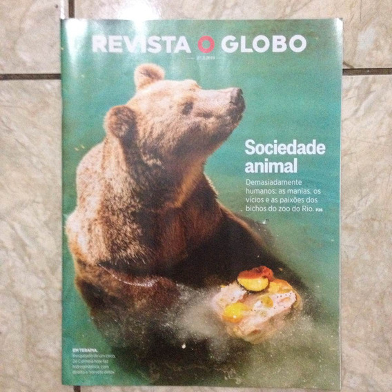 Revista O Globo 27.3.2016 Sociedade Animal Moda Em Havana