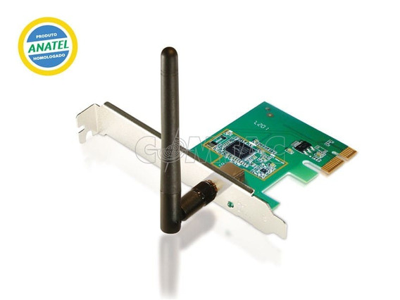 Placa Pci Express Wireless N 150mbps 9213 /comtac