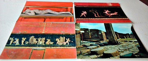 6 Fotos Postales De Pompei