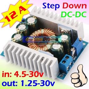 2x Conversores Dc-dc 12a Ajustavel 5v 9v 12v 24v Step Down