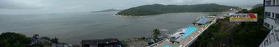 Lindo Sala Living Dividido Com Vista Espetacular No Topo Da Ilha Porchat - St0136