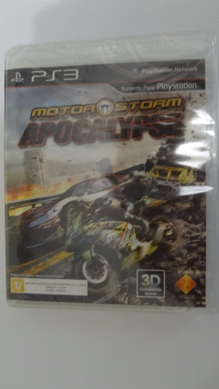 Motor Storm Apocalypse Ps3 (black Label) - Novo E Lacrado