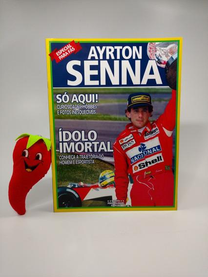 Revista Ayrton Senna Ídolo Imortal (loja Do Zé)