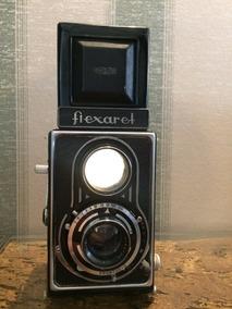Câmera Flexaret Tlr Lente 80mm F/3.5 Filme 120 Raridade
