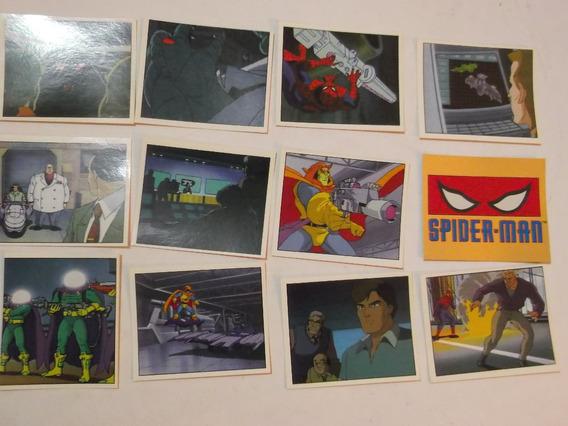 Set De 9 Estampas Album Spiderman - Panini 1995