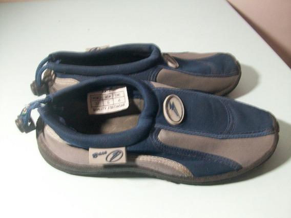 Zapatillas Náuticas Base De Niños En Muy Buen Estado.