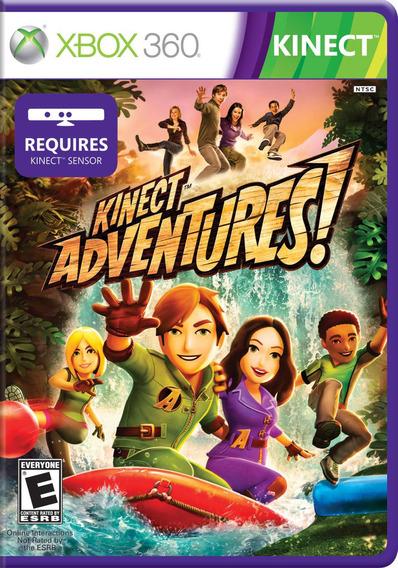 Jogo Kinect Adventures Xbox 360 Original - Com Encarte