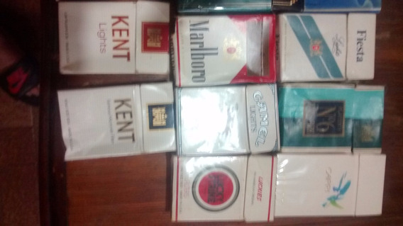 Coleccion Cajas De Cigarros , , Antiguas, Importadas Raras