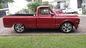 Clasica Pick-up Chevrolet 1971, 8 Cil. Std, Asientos De Piel