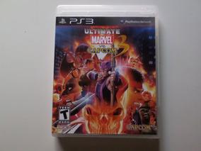 Jogo Ultimate Marvel Vs Capcom 3 Ps3 Mídia Zerada Play3