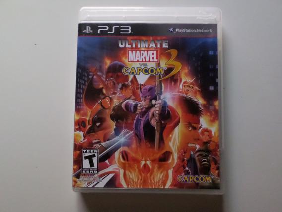 Jogo Ultimate Marvel Vs Capcom 3 Ps3 Mídia Física