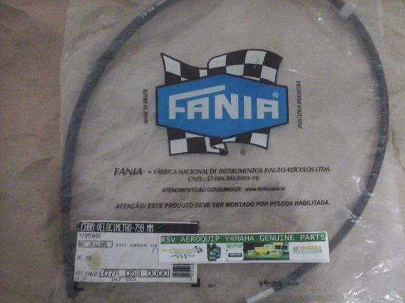 Cabo Velocimetro Rd 350 Yamaha Fania Qualidade Original 1yhh