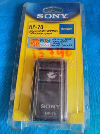 Bateria Recarregável Para Sony Np-78