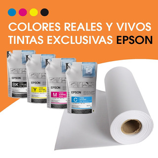 Impresion Sublimado Rollo / Calidad Premium Epson Por M2
