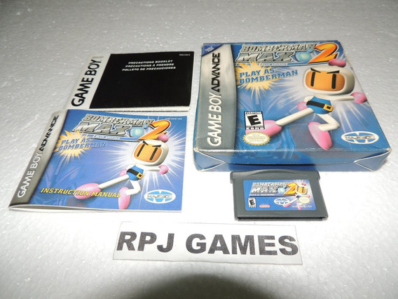 Bomberman Max 2 Blue Original Completo P/ Gba - Loja Rj