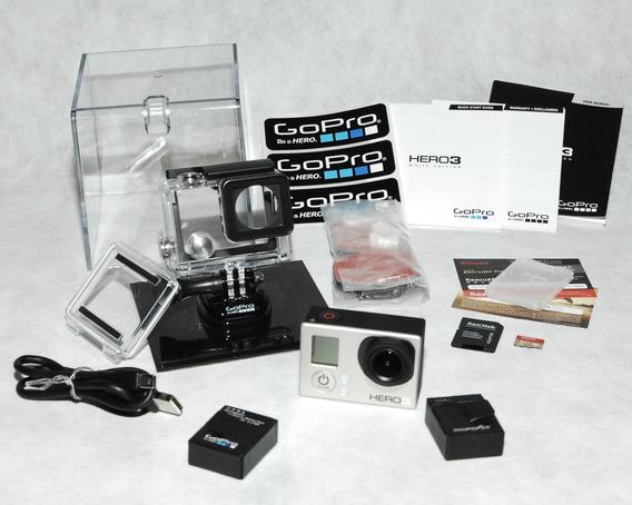Gopro Hero 3 White Modelo Chdhe-301 Quase Nova!