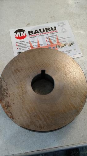 Flange Para Fixação De Placa 8  Rosca  L0  Torno E Divisor