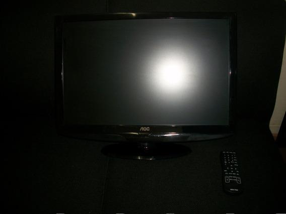 Tv 22 Lcd Aoc- L22w831- Novissima-rs