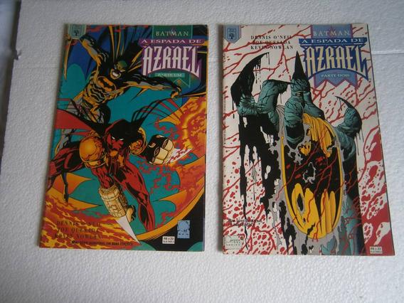 Batman Em 2 Volumes Miniseries Raras E Antigas