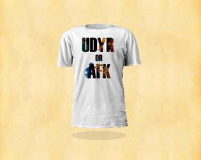 Camisa League Of Legends Udyr Or Afk Lol Cam001