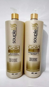 Soupleliss Escova Progressiva Gold Liss