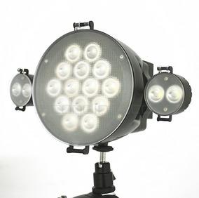 Iluminador Dimmer P/ Câmera Bateri Carregador Fonte Potente