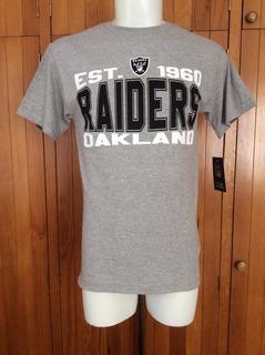 Playera Tshirt Oakland Raiders Team Apparel Nfl Oficial 2016