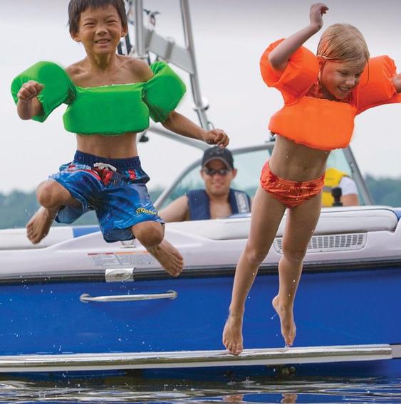 Chalecos Salvavidas Ajustables Para Niños Child Splashing