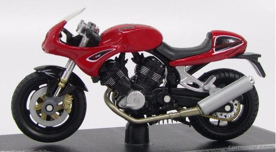 Voxan V1000 Cafe Racer Vermelha 1:18 (solido)
