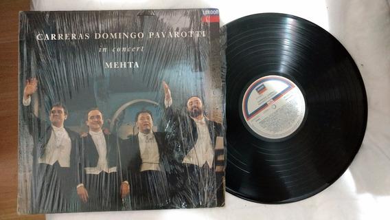 Lp Carreras, Domingo, Pavarotti In Concert