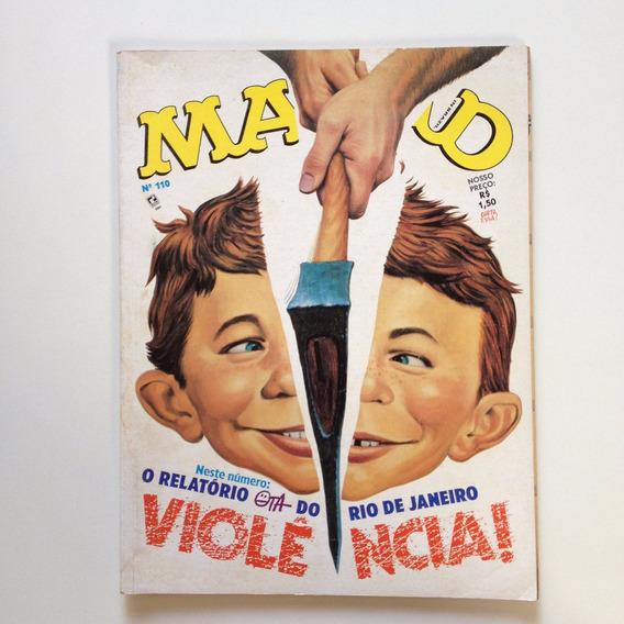 Revista Mad Violência Do Rio De Janeiro Editora Record Cc652