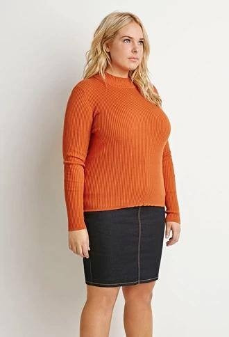 Polera Sweater Forever 21 Plus De Usa T.grande X2 - 5756